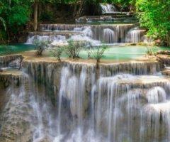 มีน้ำตกสวยๆ หลายแห่งที่กาญจนบุรี